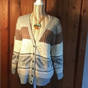 NWT Old Navy button-up Sweater XL